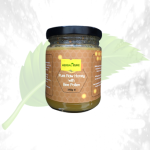 Pure Raw Honey With Bee Pollen 340GM