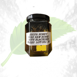 Pure Raw Honey With Black Seeds 340GM
