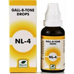 Gall-B-Tone Drops NL-4 by New life